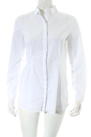 COS Langarm-Bluse weiß minimalistischer Stil