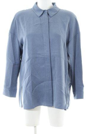 COS Langarmhemd blau Business-Look