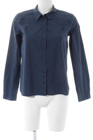 COS Langarmhemd dunkelblau Casual-Look