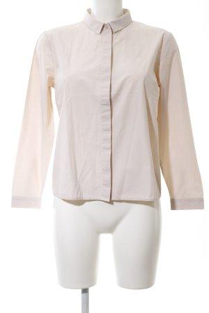 COS Shirt met lange mouwen nude zakelijke stijl