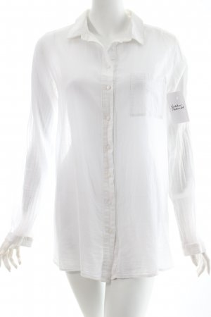 COS Long Sleeve Shirt white classic style