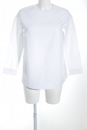 COS Long Sleeve Shirt white material mix look