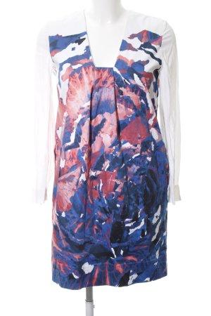 COS Langarmkleid abstraktes Muster Elegant