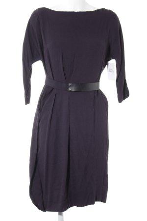 COS Langarmkleid braunviolett Elegant