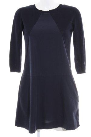 COS Longsleeve Dress dark blue simple style