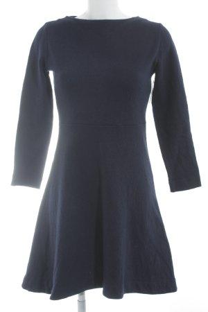 COS Langarmkleid dunkelblau schlichter Stil
