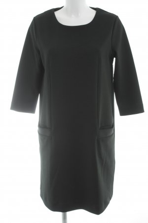 COS Langarmkleid dunkelgrün Casual-Look