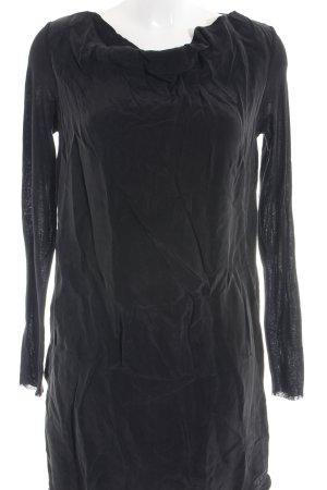 COS Jurk met lange mouwen zwart casual uitstraling