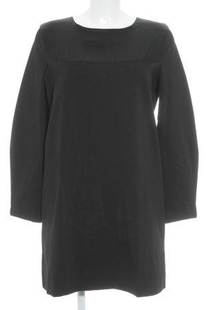 COS Langarmkleid schwarz Elegant