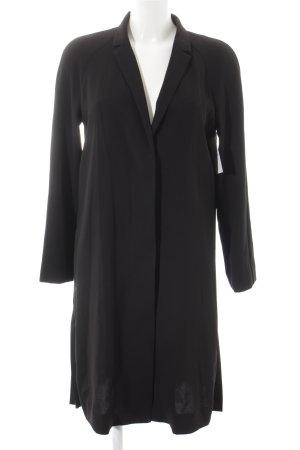 COS Chaqueta larga negro estilo sencillo