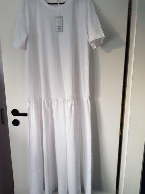 COS langes weisses BW Kleid Gr.L neu