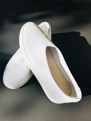 COS Slip-on Sneakers white leather
