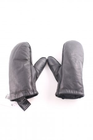 COS Leather Gloves black casual look