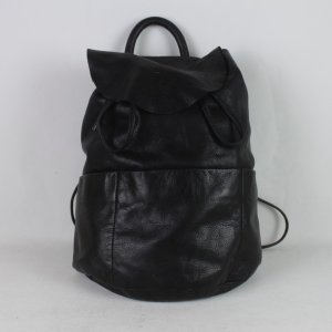 COS Pouch Bag black leather