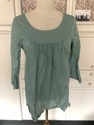 COS Tunic Blouse turquoise cotton