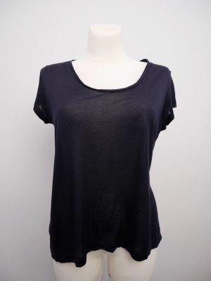 COS Lockeres T-Shirt * Rundhals * Dunkelblau * M * TOP!