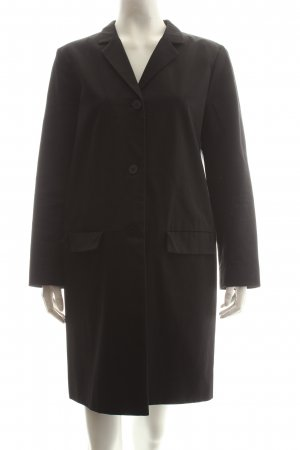 COS Long-Blazer schwarz Eleganz-Look