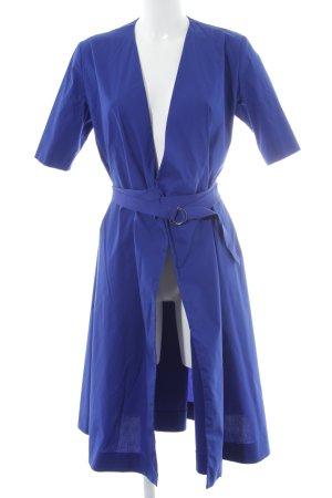 COS Wraparound blue casual look