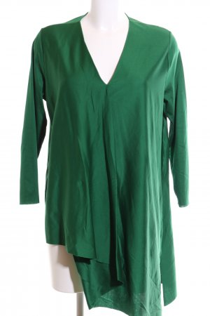 COS Long Blouse green elegant