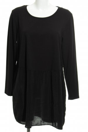 COS Long Blouse black classic style