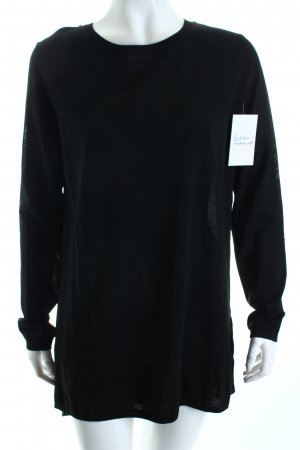 COS Long Blouse black minimalist style