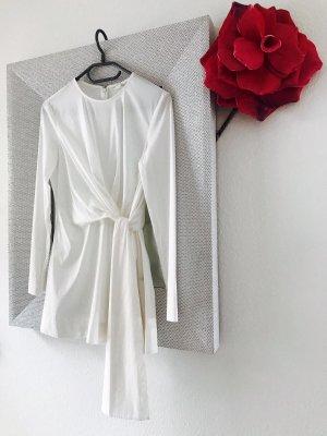 COS Long Blouse white