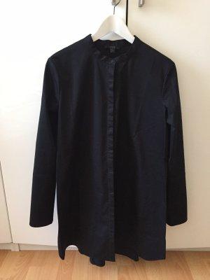 COS Blouse longue noir coton