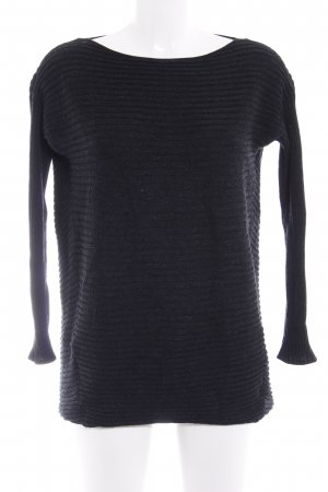 COS Longpullover anthrazit Casual-Look