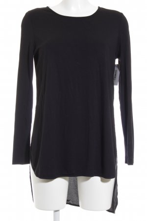 COS Longshirt schwarz Casual-Look