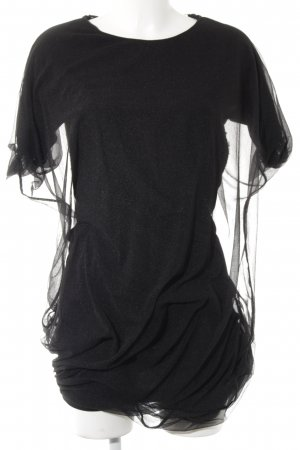 COS Longshirt schwarz Elegant