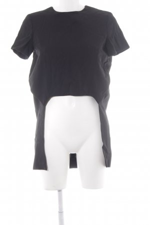 COS Longshirt schwarz extravaganter Stil