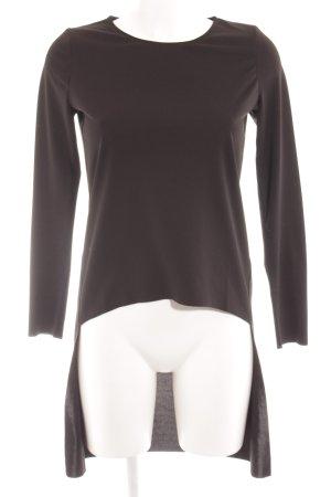 COS Longshirt schwarz schlichter Stil
