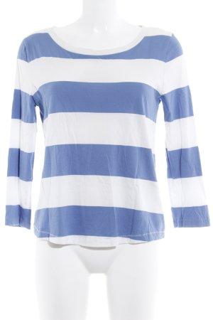 COS Haut long blanc cassé-bleuet motif rayé style décontracté