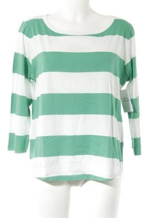 COS Longsleeve grün-weiß Streifenmuster Street-Fashion-Look
