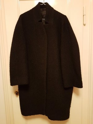 COS Short Coat black mixture fibre