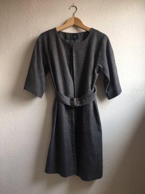 COS Long Jacket grey-natural white