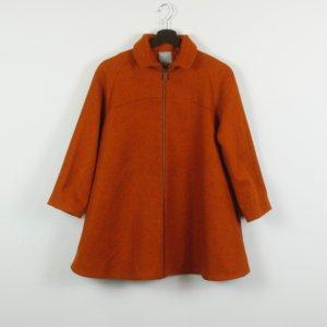 COS Coat dark orange mixture fibre