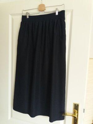 COS Maxi Skirt dark blue