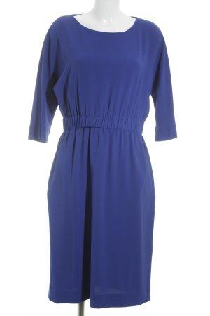 COS Midikleid blau Elegant