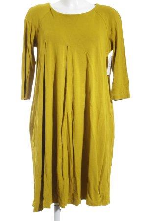 COS Midikleid gelb-dunkelgelb Casual-Look