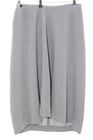 COS Midi Skirt light grey flecked business style