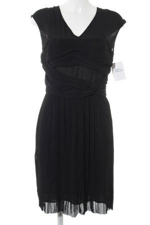 COS Minikleid schwarz Romantik-Look