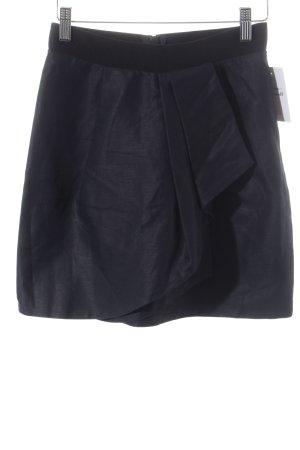 COS Minirock dunkelblau Elegant
