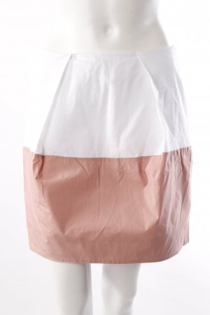 COS Minirock weiß-rosa