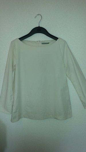 COS Oberteil Bluse shirt creme Gr. 38
