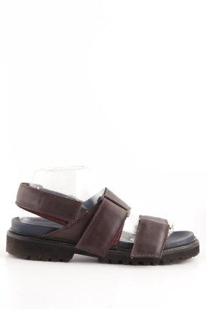 COS Sandale d'extérieur brun style décontracté