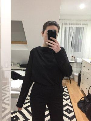 COS Blusa ancha negro