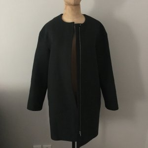 COS Oversized Coat dark green wool