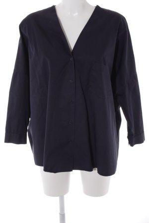 COS Oversized Bluse dunkelblau Casual-Look