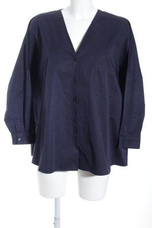 COS Oversized Bluse dunkelblau schlichter Stil